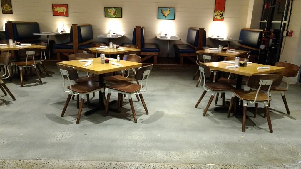Concrete Floor Clean After