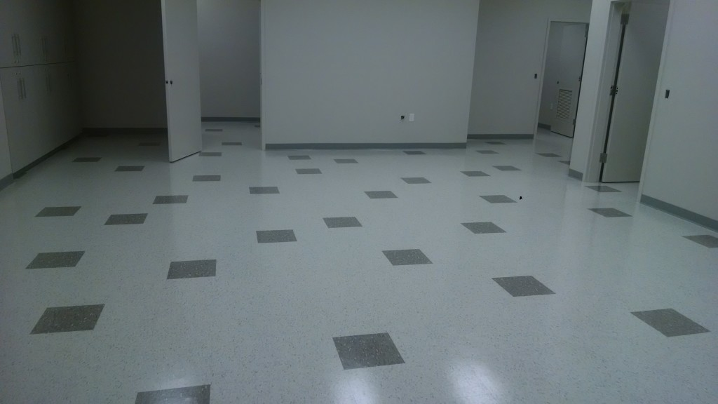New Tile Scrubbed and Sealed