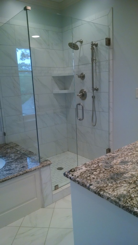 Residential move in and out shower